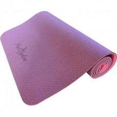 Коврик для йоги и фитнеса Power System Yoga Mat Premium PS-4056 Pink