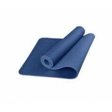 Коврик для фитнеса (йога-мат) с чехлом Newt TPE Eco 6 мм синий NE-5-80-18-B