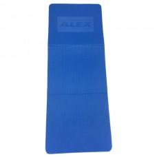 Фитнес мат Alex, синий FT-EM-EVA135B-LLS