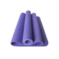 Коврик для фитнеса (йога-мат) с чехлом Newt TPE Eco 6 мм фиолетовый NE-5-80-18-V