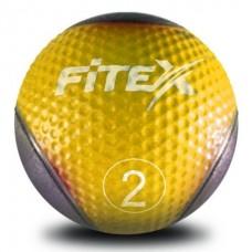 Медбол Fitex MD1240-2, 2 кг