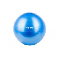Мяч гимнастический, фитбол 55 см синий Alex Fitnessport GB-55