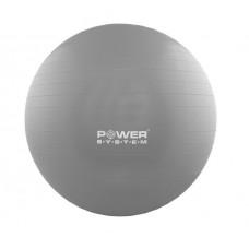Мяч для фитнеса и гимнастики POWER SYSTEM PS-4012 65 cm Grey