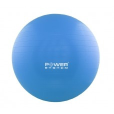 Мяч для фитнеса и гимнастики POWER SYSTEM PS-4012 65 cm Blue