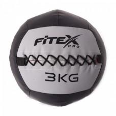 Мяч набивной Fitex MD1242-3, 3 кг