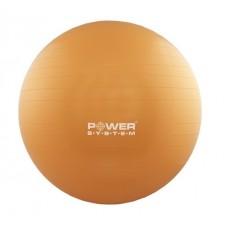 Мяч для фитнеса и гимнастики POWER SYSTEM PS-4013 75cm Orange