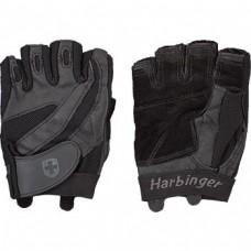 Перчатки мужские HARBINGER Pro Series Flexclosure W/D - Black S 14310