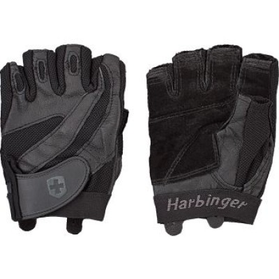 Перчатки мужские HARBINGER Pro Series Flexclosure W/D - Black S 14310