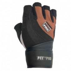 Перчатки для тяжелой атлетики Power System S2 Pro FP-04 XS Black/Brown