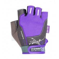 Перчатки для фитнеса и тяжелой атлетики Power System Woman's Power PS-2570 XS Purple