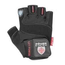 Перчатки для фитнеса и тяжелой атлетики Power System Get Power PS-2550 S Black