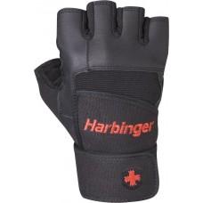 Перчатки мужские HARBINGER Pro Wristwrap-Black S черный 14010