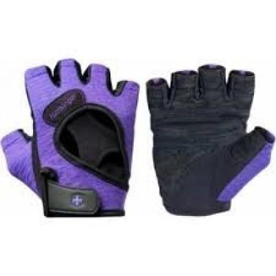 Перчатки женские HARBINGER FlexFit W&D-Purple L 13938