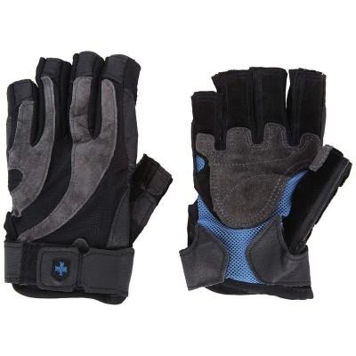 Перчатки HARBINGER FlexFit Classic Non-Wristwrap Black/Blue M 135520