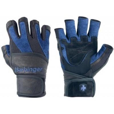 Перчатки HARBINGER BioFlex WristWrap, M 134022
