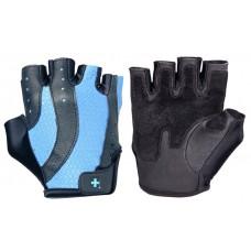 Перчатки женские HARBINGER Pro Wash&Dry - Black/Periwinkle blue L 14932