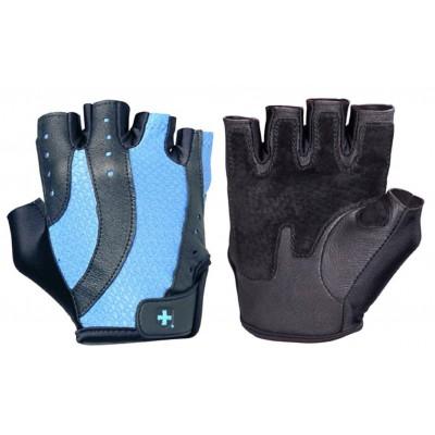 Перчатки женские HARBINGER Pro Wash&Dry - Black/Periwinkle blue M 14922