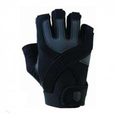 Перчатки тренировочные HARBINGER Training Grip-Black/Caribbean Blue S 126010