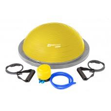 Балансировочная полусфера Hop-Sport HS-L058 желтая