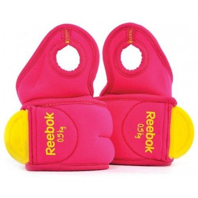 Утяжелители Reebok RAWT-11070MG Wrist Weights - 0.5Kg