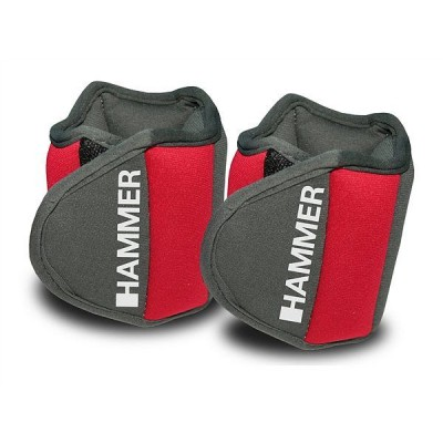 Утяжелители Finnlo Hammer Wrist Sleeve (2 шт x 0,75 кг) 66309