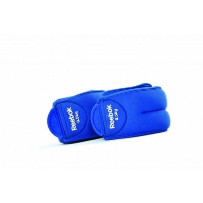 Утяжелитель Reebok RAEL-11074BL Ankle Weights - 0.5Kg