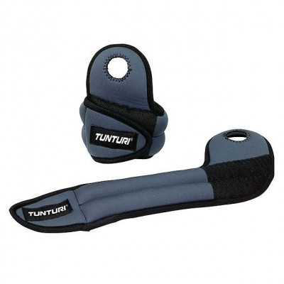 Утяжелители Tunturi Wrist Weights 2 x 1 кг, 14TUSFU004