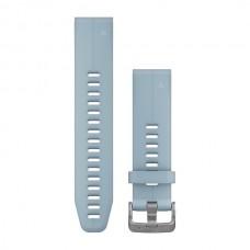 Ремешок Garmin QuickFit 20 для fenix 5S Plus и fenix 5S серо-голубой 010-12739-03