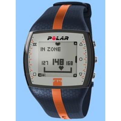 Монитор сердечного ритма POLAR FT4M (синий/оранжевый) PL90053990-BL-OR