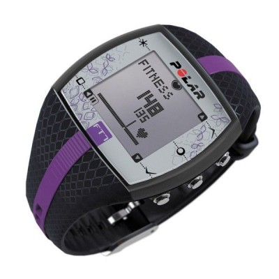 Монитор сердечного ритма POLAR FT7F (синий/сиреневый) PL90048736-BK-GD