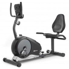 Горизонтальный велотренажер HS-040L Root черно-серебристый - model 2020