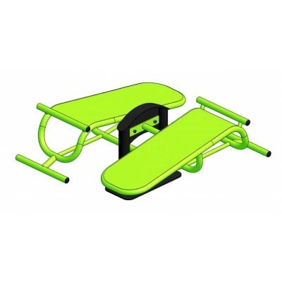 Тренажер для мышц брюшного пресса MV-Sport УК212