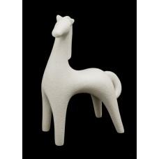 """Статуэтка N264/B """"Конь"""" 17 см, беж."""