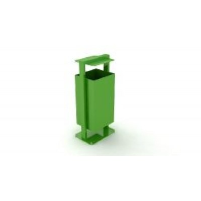 Урна Kidigo металлическая с крышкой УМ 021