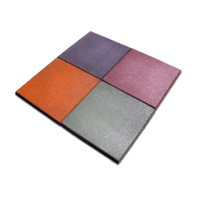 Плитка резиновая (квадрат) InterAtletika ПГ-4