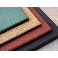 Покрытие резиновое Экогума Eco Standard, 500*500*30