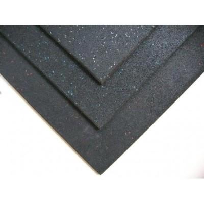 Покрытие резиновое Экогума Eco Sport 1200х1800х15, черный
