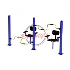 Уличный тренажер для мышц рук и ног BruStyle SG121