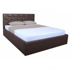 Кровать BRIZ lift 1600x2000 brown (E2455)