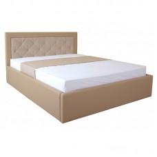 Кровать IRMA lift 1600x2000 beige (E2417)