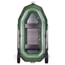 Двухместная гребная надувная лодка BARK В-270 N/Р
