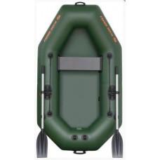 Надувная лодка гребная одноместная Колибри K-220 Standart (без настила)