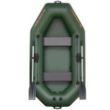 Двухместная надувная гребная лодка Колибри К-240 Стандарт