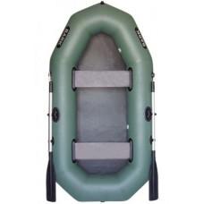 Двухместная гребная надувная лодка BARK В-240