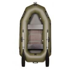 Надувная гребная двухместная лодка BARK В-230 С