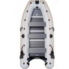 Моторно-гребная надувная килевая лодка КОЛИБРИ КМ-330D