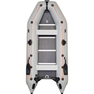 Моторно-гребная надувная килевая лодка КОЛИБРИ КМ-360D