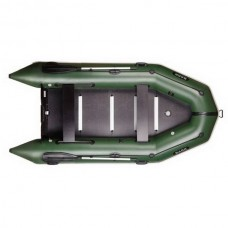 Четырехместная моторная, килевая, надувная лодка BARK ВТ-360 S