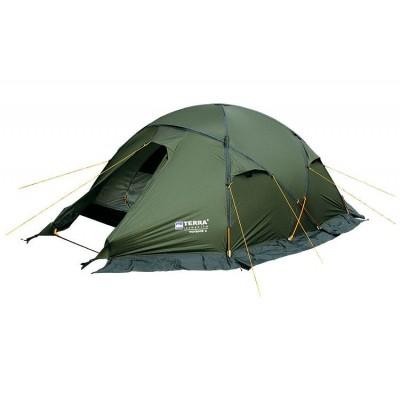 Четырёхместная палатка Terra Incognita Toprock 4 зелёная