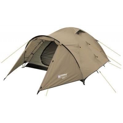 Трёхместная палатка Terra Incognita Zeta 3 песочный